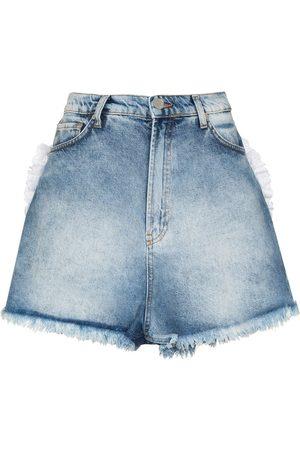 Natasha Zinko Women Shorts - Heart pocket shorts