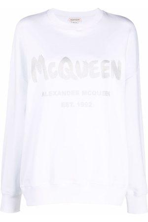Alexander McQueen Logo-print sweatshirt