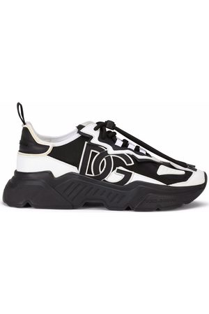 Dolce & Gabbana Men Sneakers - Logo-patch lace-up sneakers