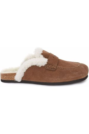 J.W.Anderson Shearling-lined loafers