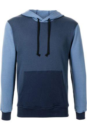 Comme des Garçons Two-tone cotton hoodie