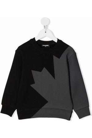Dsquared2 Maple-leaf print sweatshirt