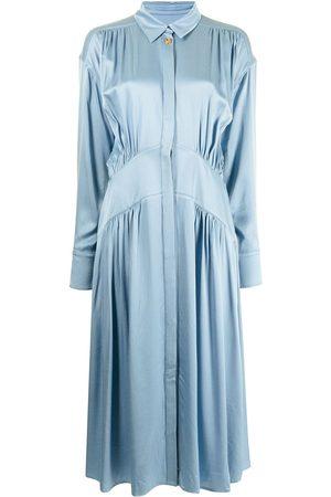 REJINA PYO Gathered-detail shirt dress