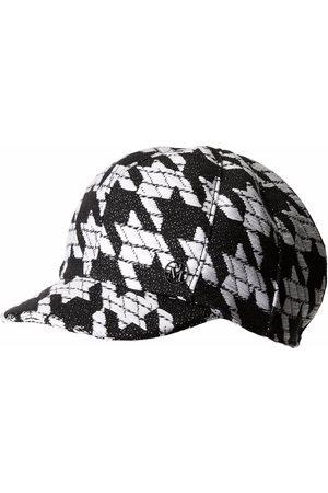 Le Mont St Michel Women Hats - Kris houndstooth-pattern cap