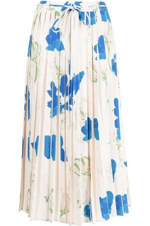 REJINA PYO Floral-print pleated skirt