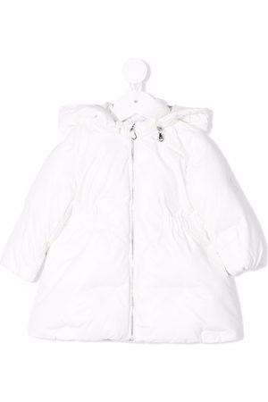 Emporio Armani Cotton hooded raincoat