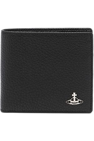 Vivienne Westwood Orb-plaque leather wallet