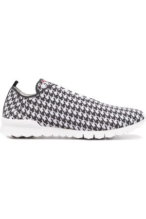 Kiton Houndstooth-print low-top sneakers