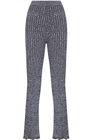 Paco rabanne Women Skinny Pants - Knitted flared trousers