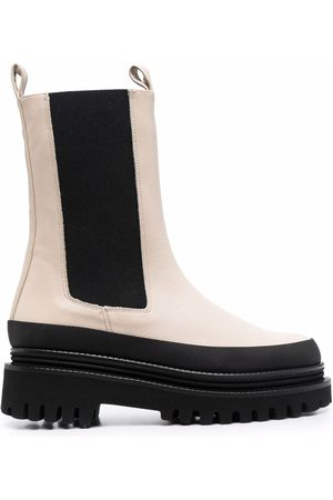 Paloma Barceló Chunky-sole Chelsea ankle boots