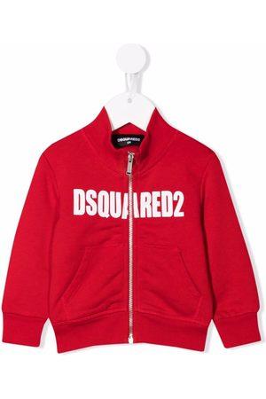 Dsquared2 Zip-front cotton sweatshirt