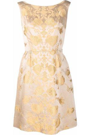 A.N.G.E.L.O. Vintage Cult 1950s floral jacquard knee-length dress