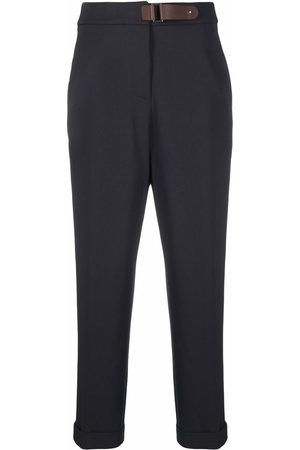 PESERICO SIGN High-waisted cropped trousers