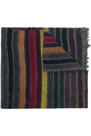 Faliero Sarti Women Scarves - Lightweight striped knitted scarf