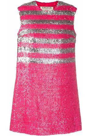 A.N.G.E.L.O. Vintage Cult 1960s sequinned sleeveless mini-dress