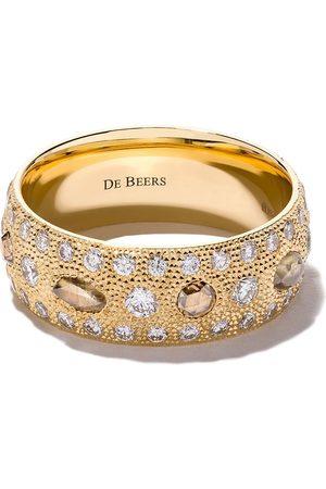 De Beers 18kt Talisman diamond band