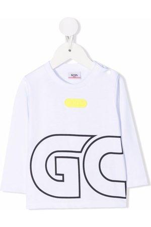 GCDS Logo-print cotton T-Shirt