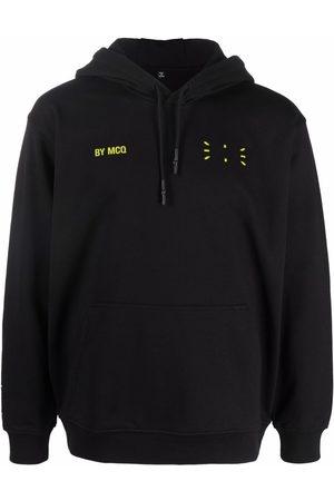McQ In Dust logo-print hoodie