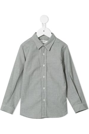 BONPOINT Micro-houndstooth shirt