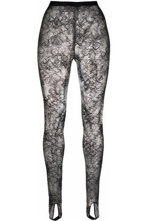 La Perla Women Stockings - Floral-lace tights