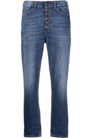 Dondup Button-up cropped jeans