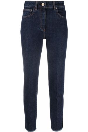 PESERICO SIGN Mid-rise skinny trousers