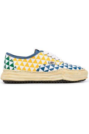 Maison Mihara Yasuhiro Sneakers - Baker geometric-print sneakers