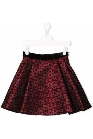 Elie saab Girls Printed Skirts - Graphic print skater skirt