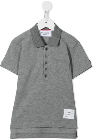 Thom Browne Classic short sleeve polo shirt