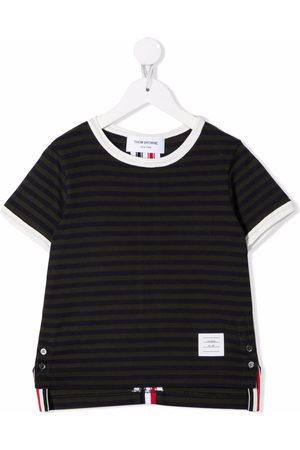 Thom Browne Ringer stripe short-sleeve T-shirt