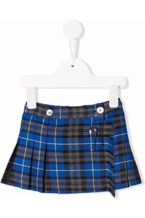 Mariella Ferrari Check-print pleated skirt
