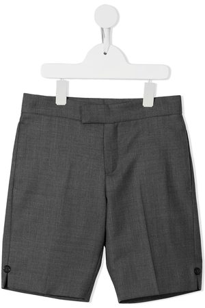 Thom Browne Boys Shorts - Super 120s twill tailored shorts