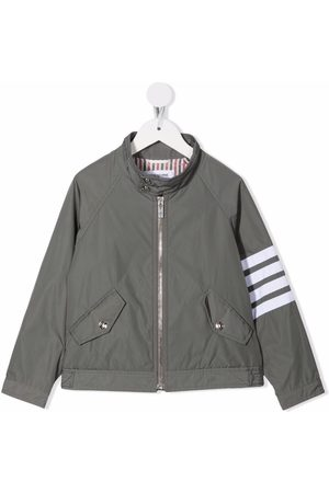 Thom Browne 4-Bar tech gabardine jacket
