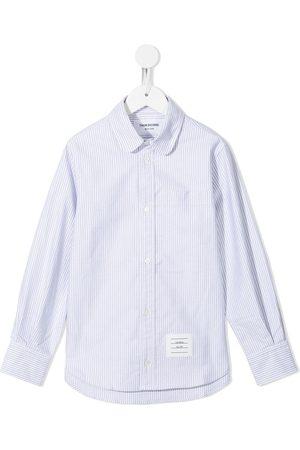 Thom Browne Oxford University stripe classic shirt