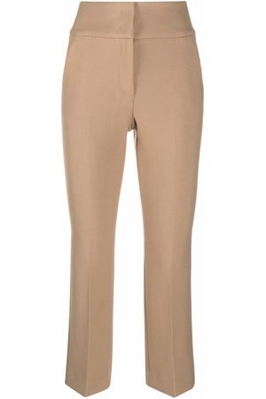 PESERICO SIGN Women Wide Leg Pants - High-waisted flared trousers