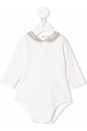 LA STUPENDERIA Organic cotton long-sleeve body