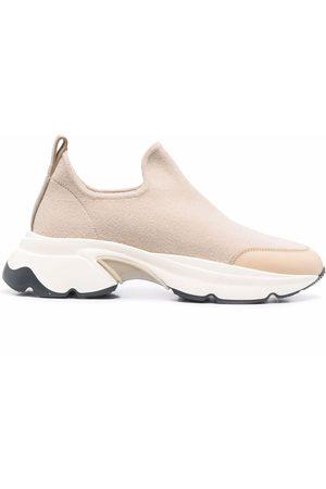 Fabiana Filippi Round-toe slip-on sneakers