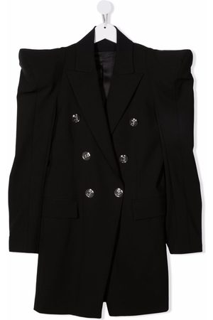 Balmain Girls Casual Dresses - TEEN double-breasted blazer dress
