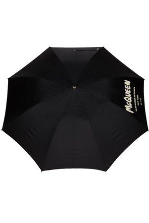 Alexander McQueen Graffiti logo-print umbrella