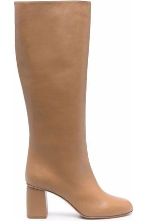 RED(V) Women Boots - Zip-up calf boots