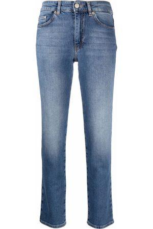 Chiara Ferragni Embroidered-logo denim jeans