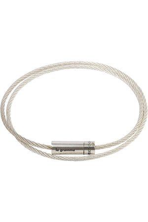Le Gramme Men Bracelets - SILV 9G POLSHED DBL CABLE BRCL