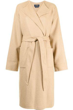 Polo Ralph Lauren Wool-Blend Wrap Coat
