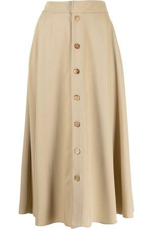 Ralph Lauren Collection Gerald wool gabardine skirt