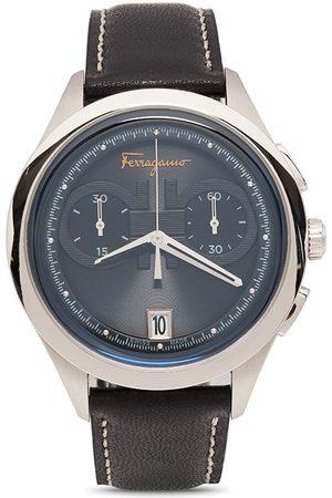 Salvatore Ferragamo Watches Gancini chronograph quartz 42mm