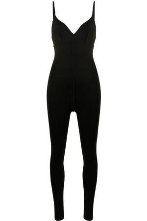 BONDI BORN Winter V-neck jumpsuit