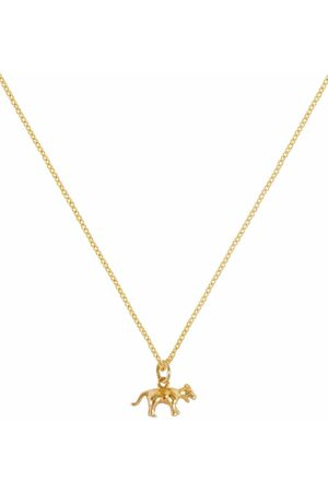 Patcharavipa Women Necklaces - 18kt yellow Tiny Tiger necklace