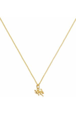 Patcharavipa Women Necklaces - 18kt yellow tiny rabbit necklace