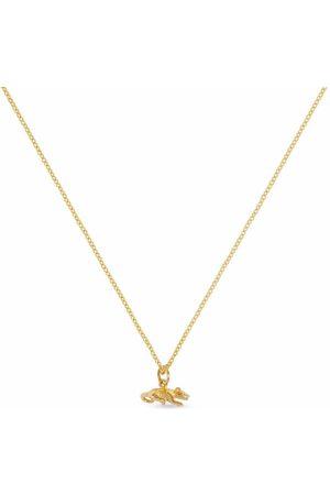 Patcharavipa 18kt yellow Tiny Rat necklace