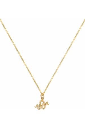 Patcharavipa Women Necklaces - 18kt yellow Tiny Snake necklace